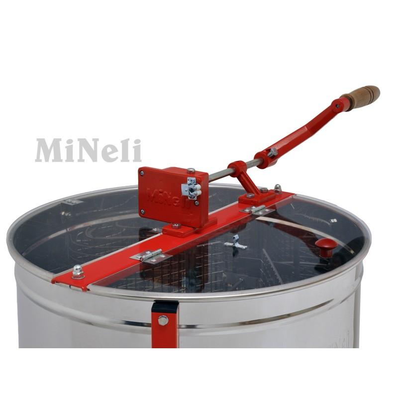 Μελιτοεξαγωγέας 4 Πλαισίων Χειροκίνητος με πόδια FULL INOX [AISI 304- 18/10],