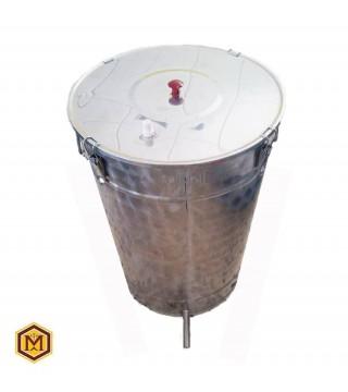 Κηροτήκτης Ατμού -  Δοχείο FULL INOX