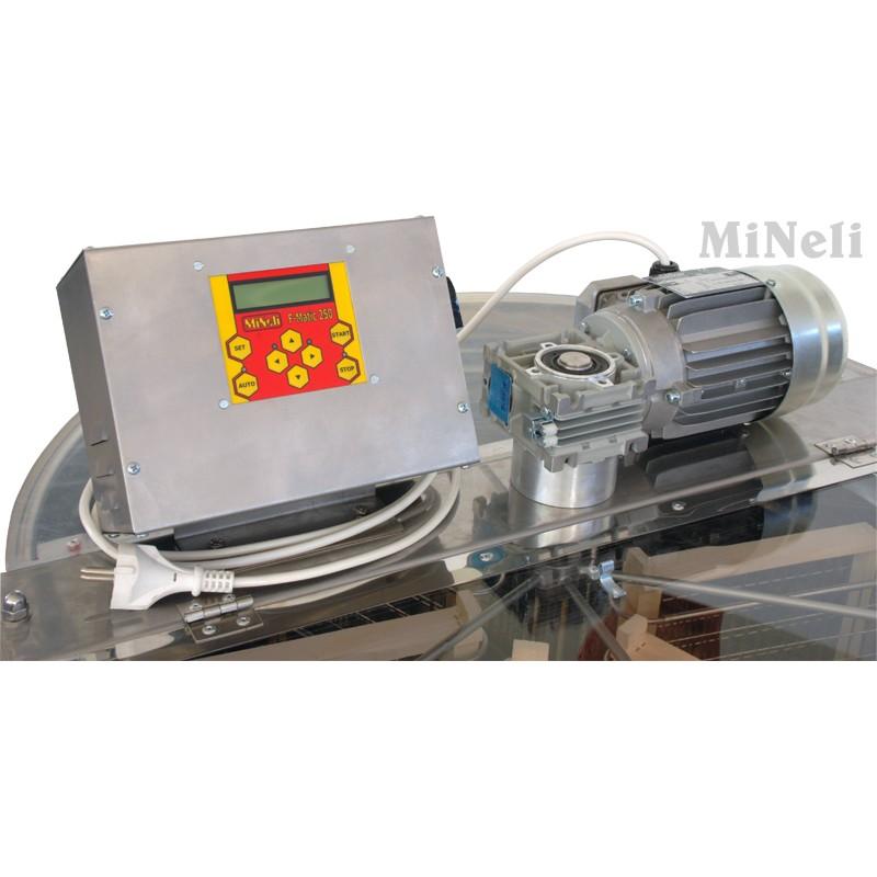 Μελιτοεξαγωγέας 6 Πλαισίων PREMIUM Προγραμματιζόμενος, τεχνολογία  INVERTER, FULL INOX [AISI 304- 18/10]