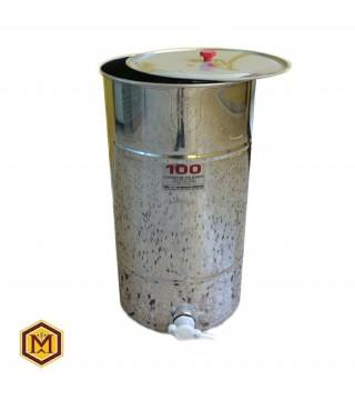 Δοχείο Μελιού Ιταλιας Inox 100 kgr (71 lit) LEGA ITALY