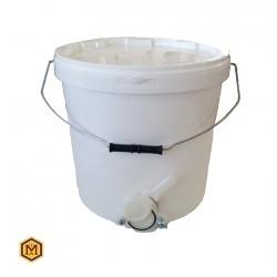 Δοχείο 25 Κιλών Πλαστικό με Κάνουλα (18 lit)
