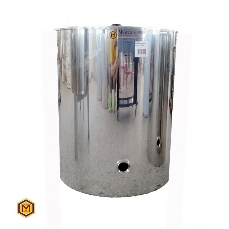 Δοχείο Θερμαινόμενο 210 Κιλών (150 lit) Inox