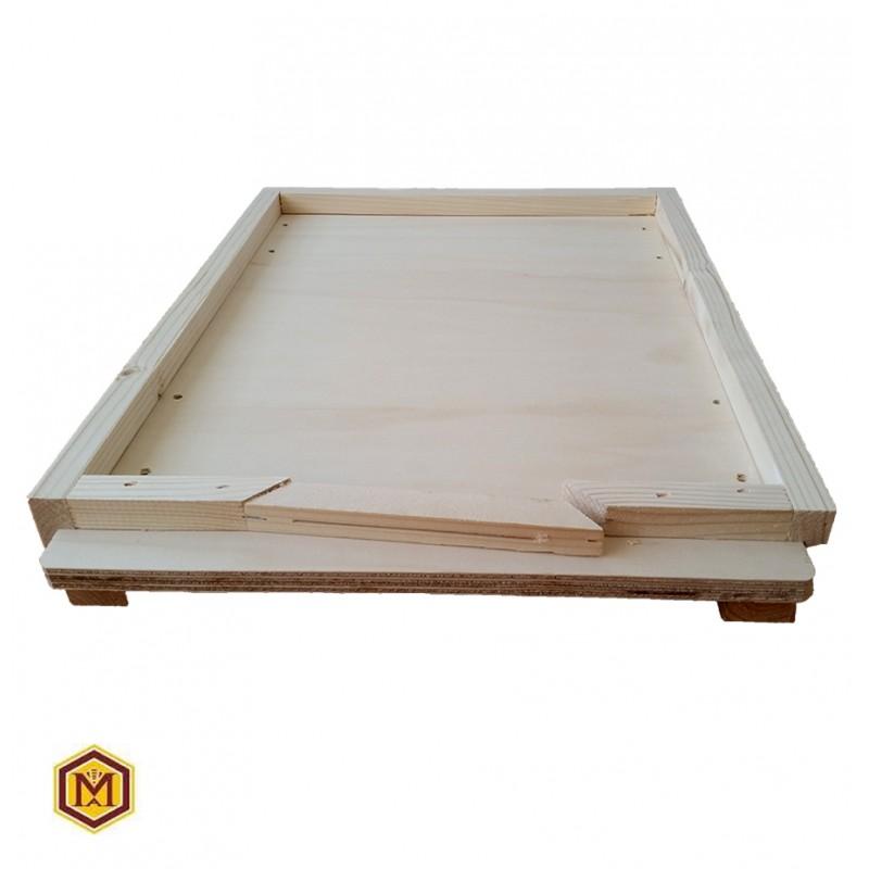 Βαση κινητη ξυλινη ενισχυμενη (μικρη εισοδος)
