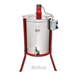 Μελιτοεξαγωγέας 6 Πλαισίων Ηλεκτρικός Full Inox [AISI 304- 18/10]