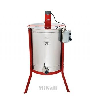 Μελιτοεξαγωγέας 4 Πλαισίων Ηλεκτρικός  [INOX AISI 304 - 18/10], πάχους 6mm