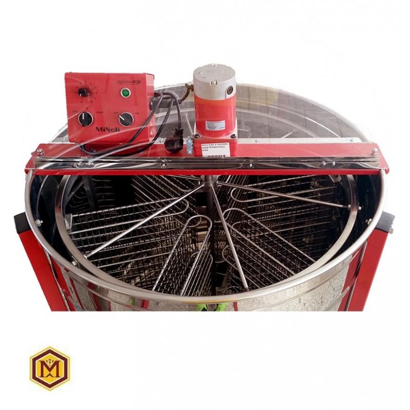 Μελιτοεξαγωγέας 6  Πλαισίων  Αυτόματος FULL INOX AISI 304- 18/10