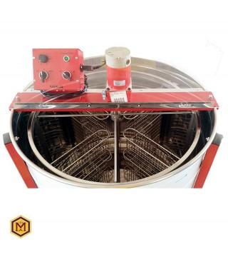 Μελιτοεξαγωγέας αυτόματος, 4 πλαισίων, FULL INOX [AISI 304- 18/10]