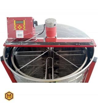 Μελιτοεξαγωγέας 4 Πλαισίων  Προγραμματιζόμενος,  FULL INOX [AISI 304- 18/10]