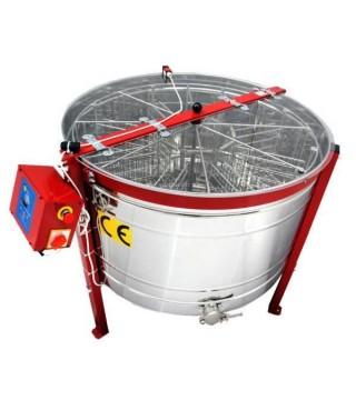 Μελιτοεξαγωγέας 10 Πλαισίων με Αναστροφή Πολωνίας FULL INOX AISI 304- 18/10