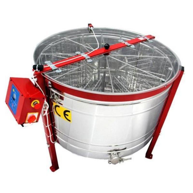 Μελιτοεξαγωγέας 12 Πλαισίων Αυτόματος Πολωνίας FULL INOX AISI 304 -18/10