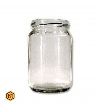 Βάζο 370 ml Γυάλινο σε Συσκευασία των 12 τεμαχίων