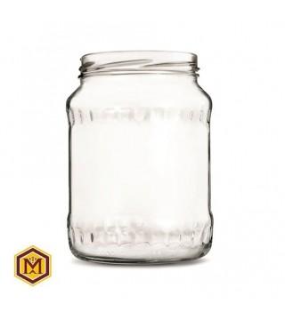 Βάζο 1500 ml Γυάλινο σε Συσκευασία των 9 τεμαχίων.