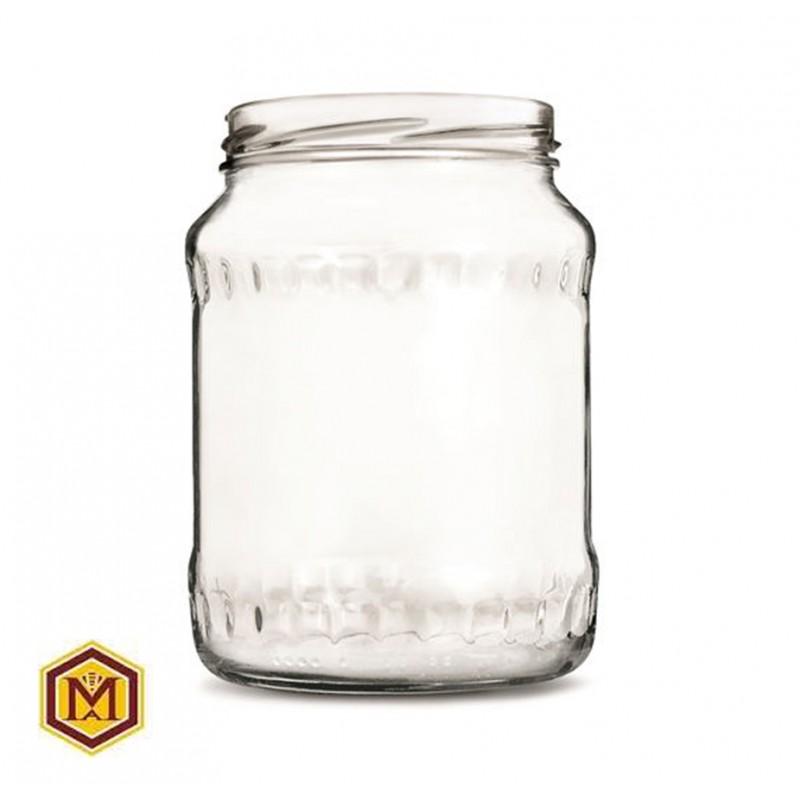 Βάζο 1500 ml Γυάλινο σε Συσκευασία των 6 τεμαχίων.