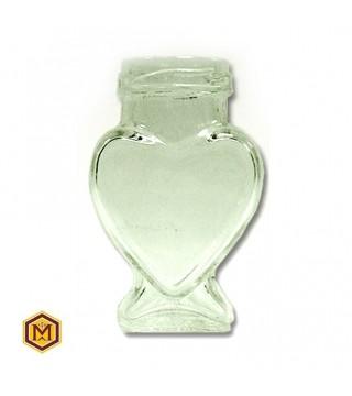 Βαζο 106 ml Καρδιά σε Συσκευασια των 64 τεμαχίων